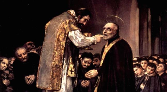 Goya - The Last Communion of St Joseph Calasanz