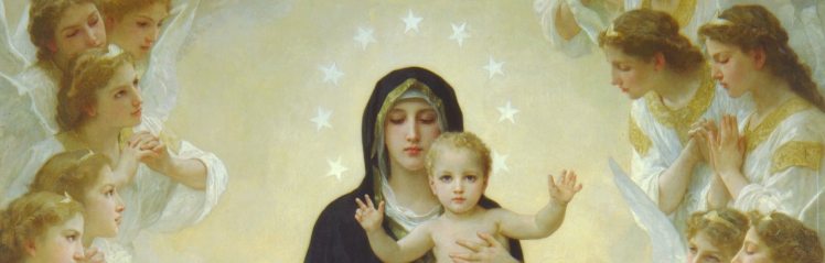 Bouguereau - The Virgin with Angels (detail)