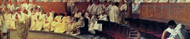 Maccari - Cicero Denounces Catiline (detail)