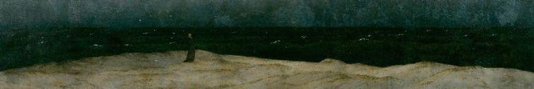 Friedrich - Monk (detail)