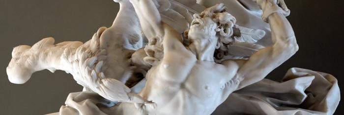 Promethius Bound (Adam, detail)