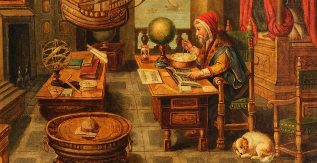 Van der Straet (1523-1605): A Natural Philosopher in His Study